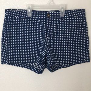 Womans blue merona shorts size 10